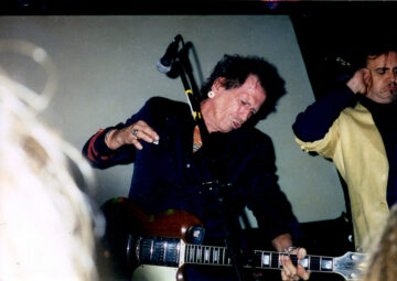 Keith Richards and Terry Reid at Kenny's Monday show in Beverly Hills, CA.